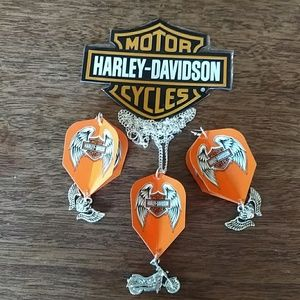 Jewelry - Harley Davidson Dart flight set